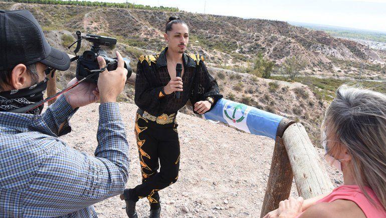 Enzo Nievas, el neuquino que conquista el mundo con el malambo