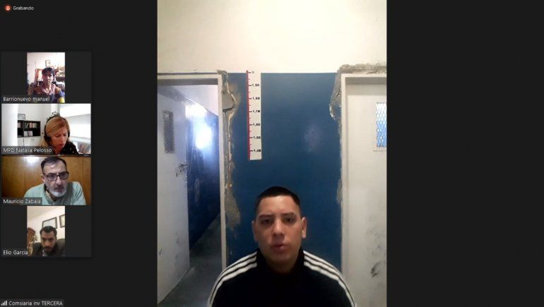 Sandoval Guzmán irá tres años a la cárcel por el violento robo a una mujer que protagonizó en marzo del 2021.