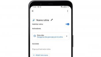 google estreno su nuevo asistente de rutinas: asi podes configurarlo