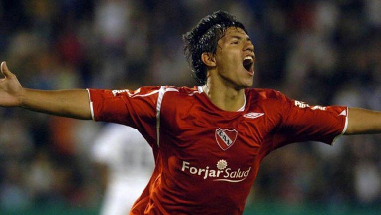 Agüero abandonó el barrio de su infancia cuando se fue a jugar a Independiente.
