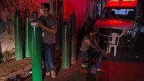 amazonas: al menos 13 muertos por falta de oxigeno en los hospitales