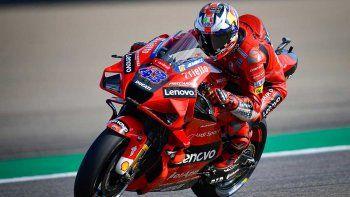 Jack Miller fue el más veloz del viernes del MotoGP en Aragón.