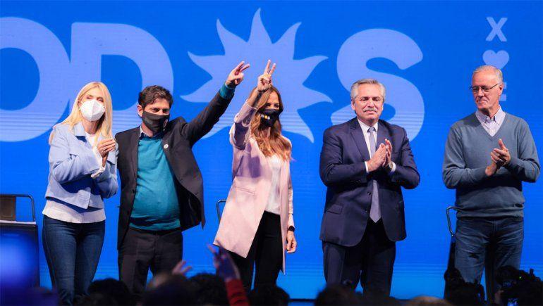 Alberto encabezó el cierre de campaña del FdT y pidió apostar por el trabajo