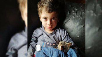conmocion en chile por la desaparicion de un nene de 3 anos