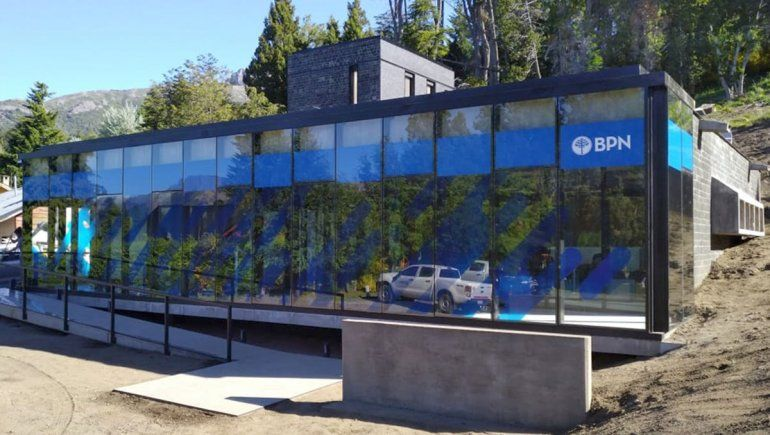 El BPN inauguró su sucursal en Villa Traful