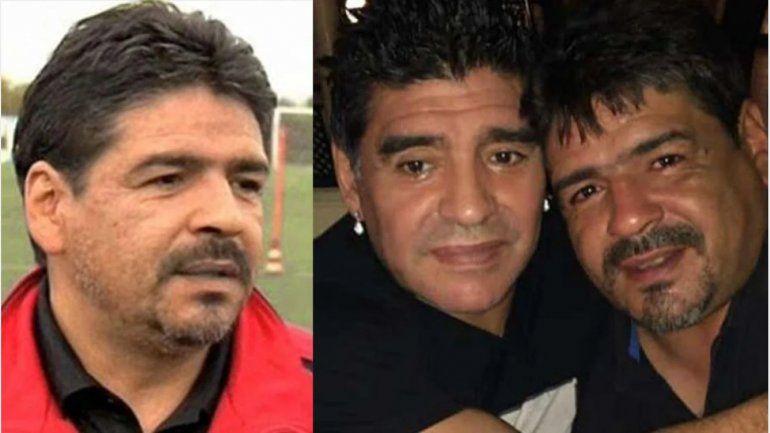Hugo Maradona: Lo único que falta es que digan que mi hermano se suicidó