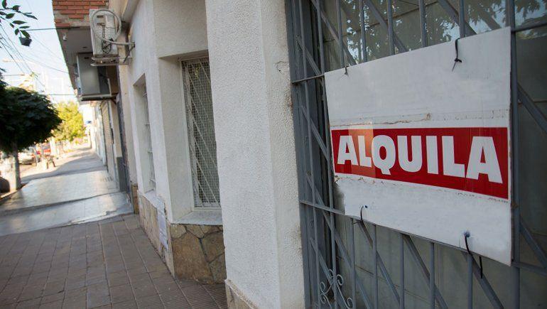 Provincia intervendrá en los contratos de alquiler