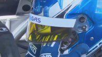 Diego Azar no pudo consagrarse campeón del Top Race en Buenos Aires y al llegar a los boxes rompió en llanto.