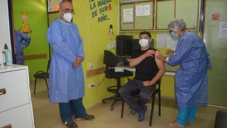 Se reanudó la vacunación en Rincón de los Sauces