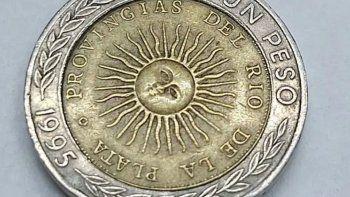 Coleccionistas dicen que la moneda con error vale 1,50