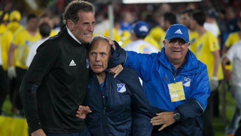 Hugo Gottardi (derecha) responsabilizó al Consejo de Fútbol por la salida de Russo de Boca.