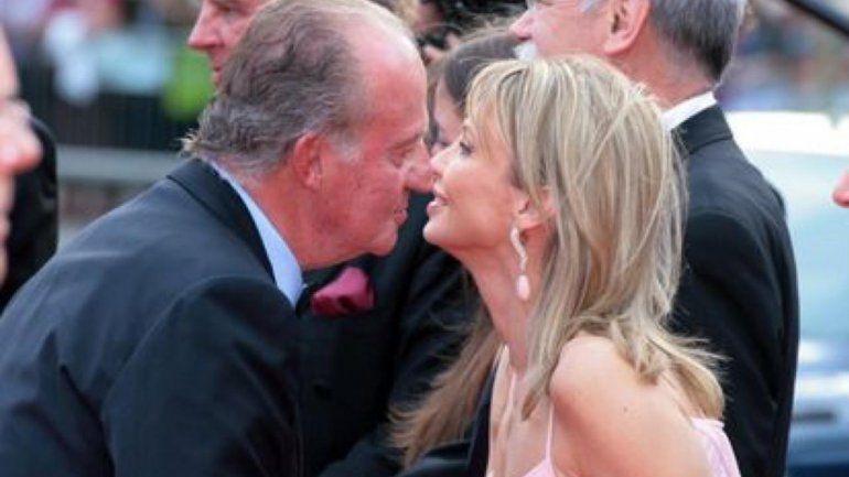 La ex amante del rey Juan Carlos I lo denunció