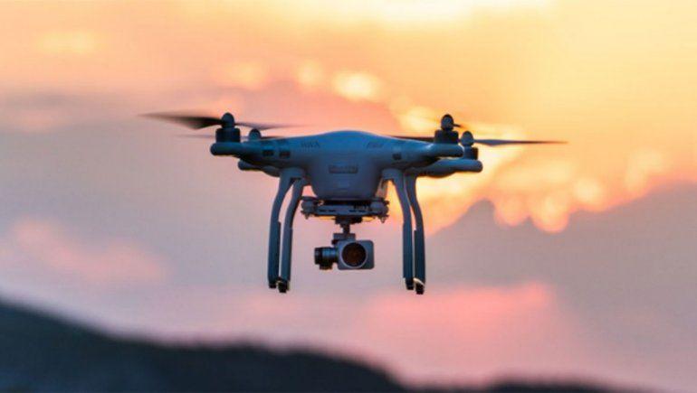 Un drone desató una situación insólita en Santiago de Chile.
