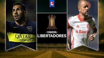 Tevez será titular en Boca. DAlessandro, en el banco del Inter.