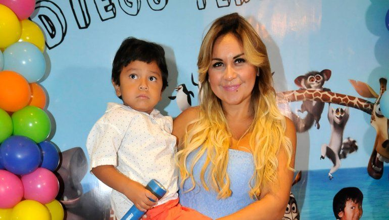 Verónica Ojeda cruzó a Dalma Maradona: Respiremos, hijo