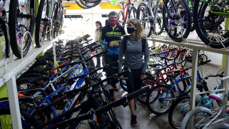 Se desplomó la venta de bicicletas en el final de la cuarentena