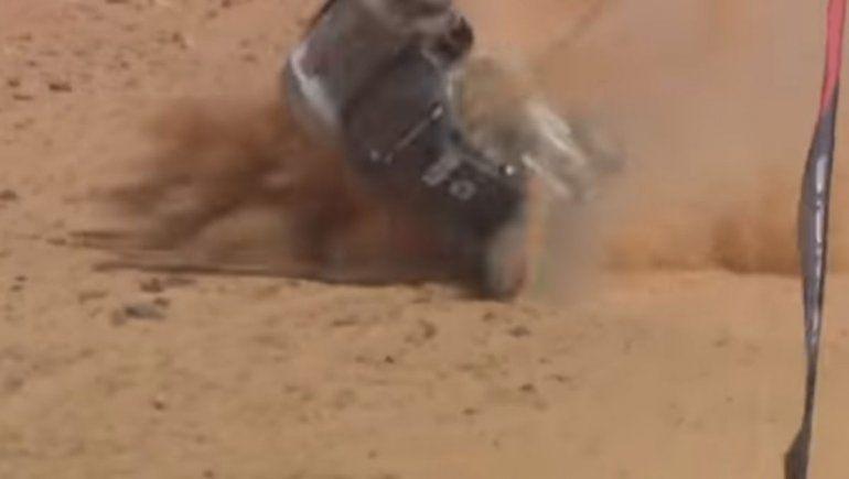 La Extreme E tuvo un inicio complicado debido al fuerte accidente de Claudia Hurtgen
