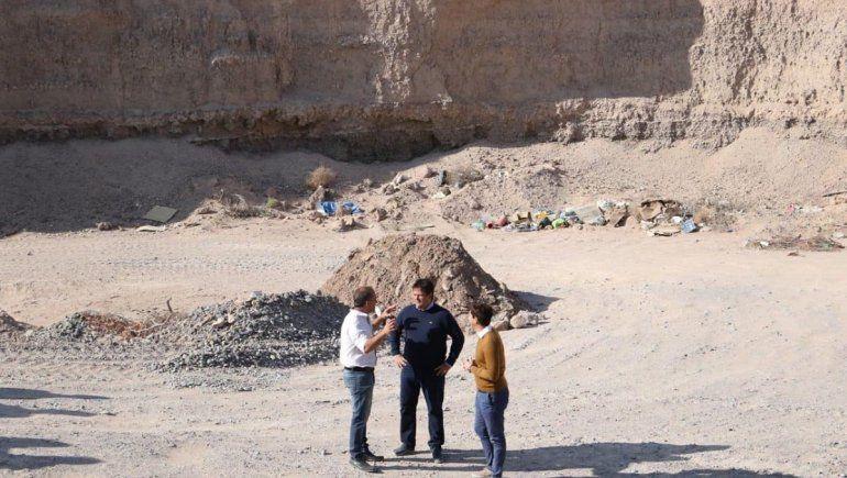 Para controlar la extracción de áridos, la Muni creará una cantera