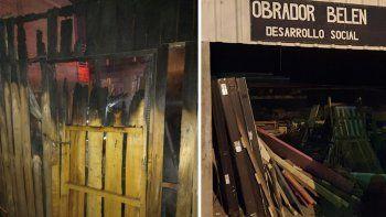sofocaron tres incendios en 24 horas: en uno murio un perro