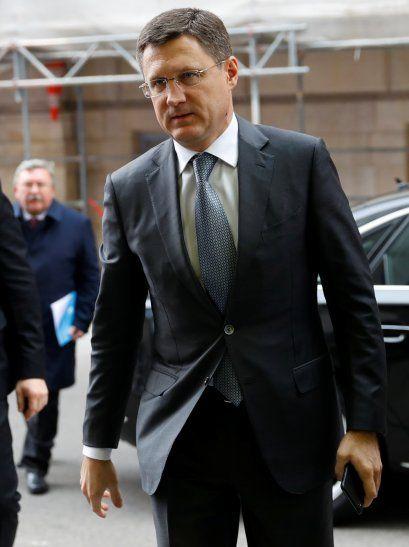 El ministro ruso de Energía