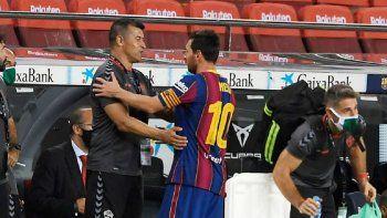 Jorge Almirón: el Barcelona sin Messi es otro