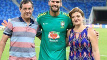 hallan muerto al padre alisson becker, el arquero de brasil
