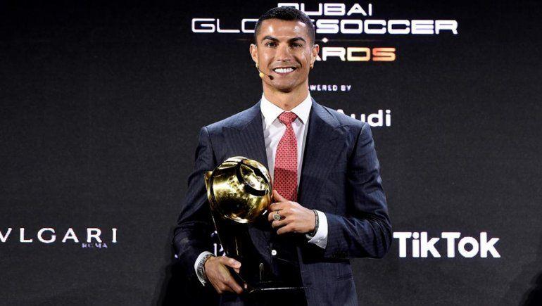 ¿Injusticia? Ronaldo le ganó a Messi como mejor jugador del siglo XXI