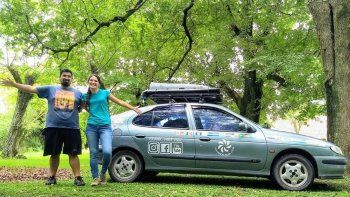 hazana neuquina: quieren unir america en un megane del 99