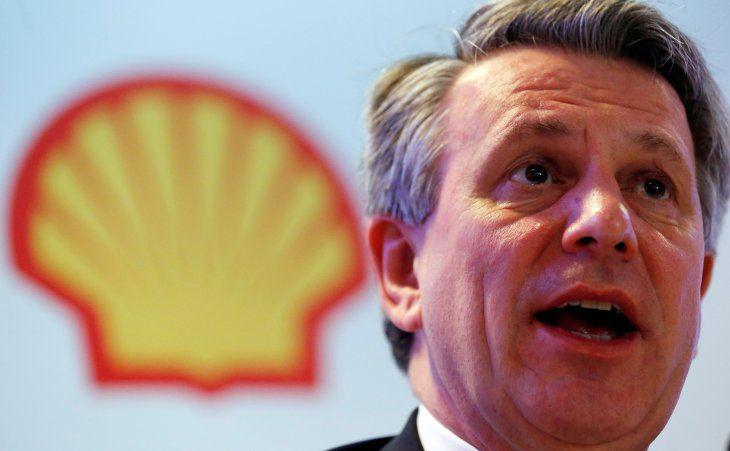 FOTO DE ARCHIVO. El presidente ejecutivo de Royal Dutch Shell