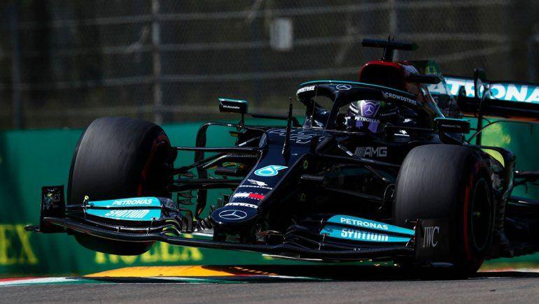 Lewis Hamilton logró una nueva pole position en la Fórmula 1.