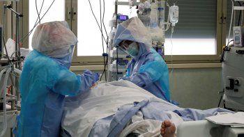 ¿cual es la ocupacion de las camas de terapia intensiva?