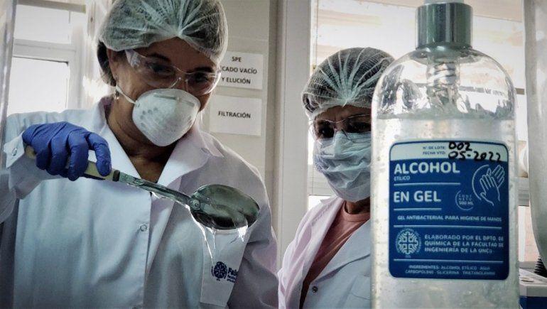 Laboratorio de Química de la UNCo.