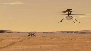historico: el primer vuelo controlado de la nasa en otro planeta