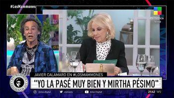 El incómodo momento de Javier Calamaro en lo de Mirtha Legrand