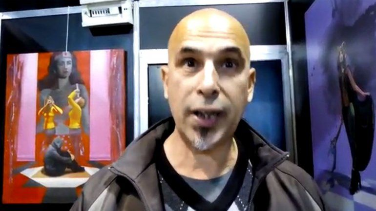 Comic Con: el escritor que eligió la Patagonia como escenario de sus libros de fantasía
