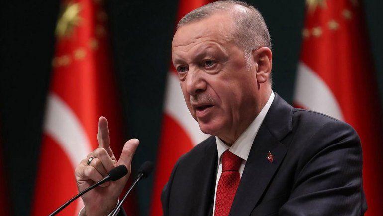 Erdogan: Francia debe deshacerse de Emmanuel Macron