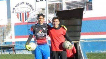 Para Angel Gutiérrez no hay barreras. Un arquero con futuro y un club que da el ejemplo de inclusión.