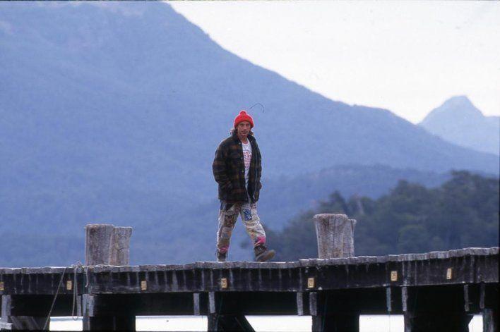 Randazzo, gran amigo de Maradona, recibió a Diego en La Angostura en 1997.