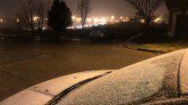 ¿nieva en neuquen? asi amanecio la ciudad este viernes