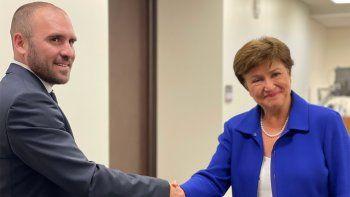 Nueva reunión de Guzmán con la titular del FMI