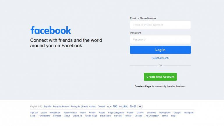 Facebook no para de generar polémica   Imagen referencial