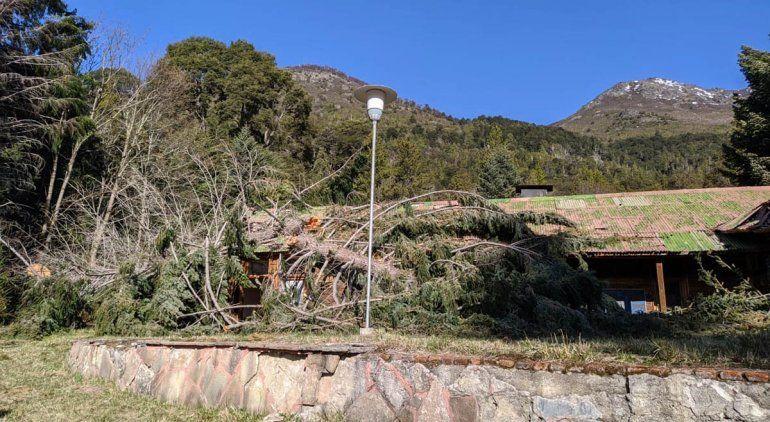 Villa Mascardi: verifican los daños causados por usurpadores
