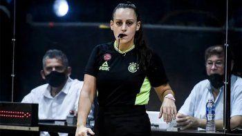 escandalo: la denuncia de la jueza de basquet que se retiro por acoso sexual