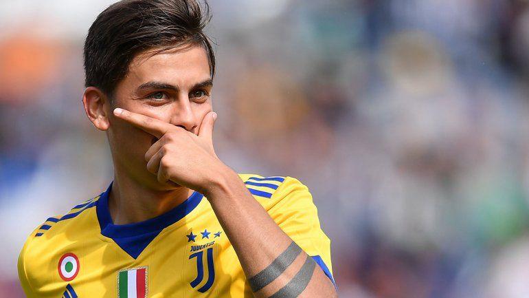 La rompió: Dybala hizo tres goles con la Juventus