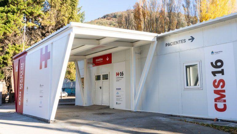 San Martín: se habilita el centro modular sanitario
