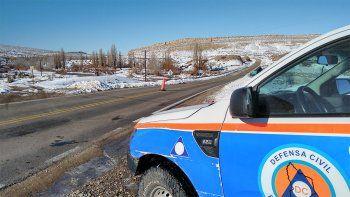 Piden precaución en las rutas por la presencia de hielo y nieve