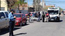 choco en un auto robado tras un raid delictivo en el oeste neuquino