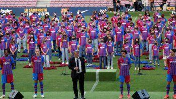 La nueva camiseta del FC Barcelona fue fabricada por Nike con poliéster 100% reciclado