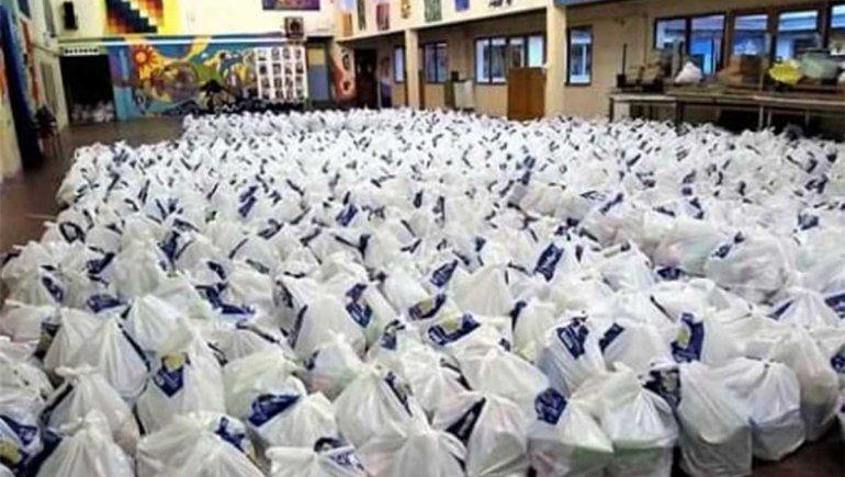 El Parque Nacional Lanín entregó alimentos a tres escuelas rurales