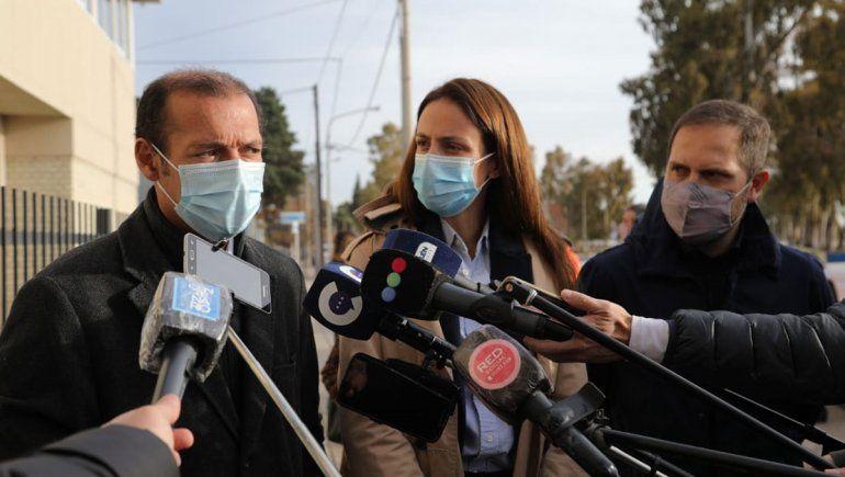 Gutierrez confirmó el llamado a licitación del Hospital Norpatagónico